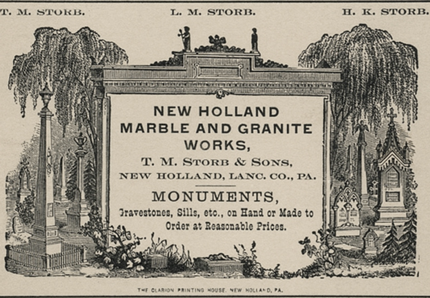 Monument Store Opens 1839